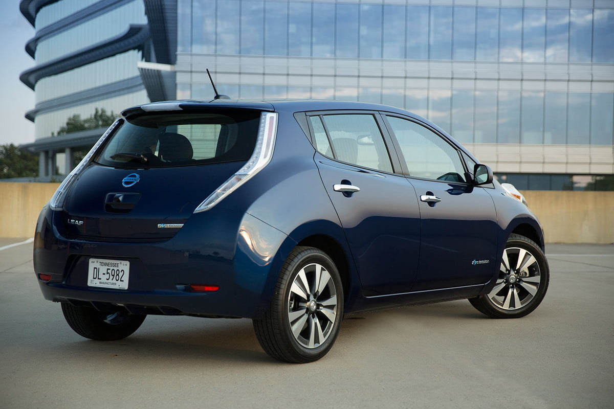 nissan leaf no charge to