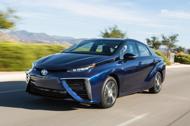 toyota mirai arriving in california this fall pictures specs