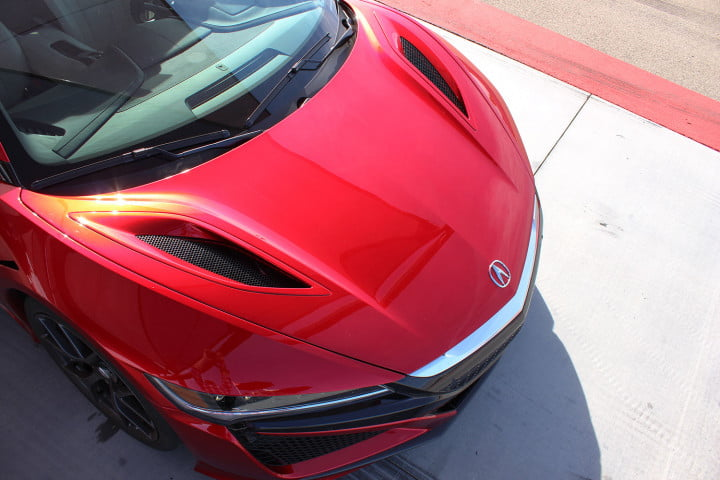 acura nsx first drive