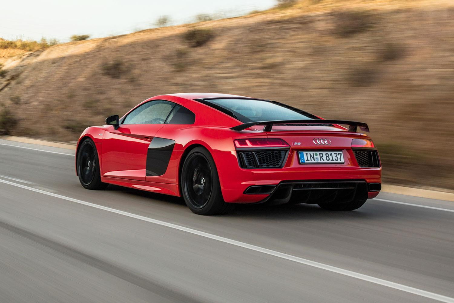 2017 Audi R8 V10 Plus First Drive Digital Trends