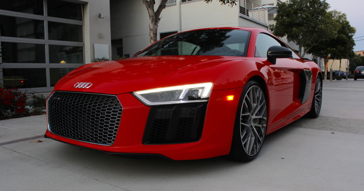 2017 audi r8 v10 plus review digital trends. Black Bedroom Furniture Sets. Home Design Ideas