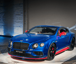 With 633 hp, the 2017 Continental GT Speed is the burliest Bentley ever built