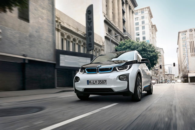 germany electric car discount program strong start  bmw i