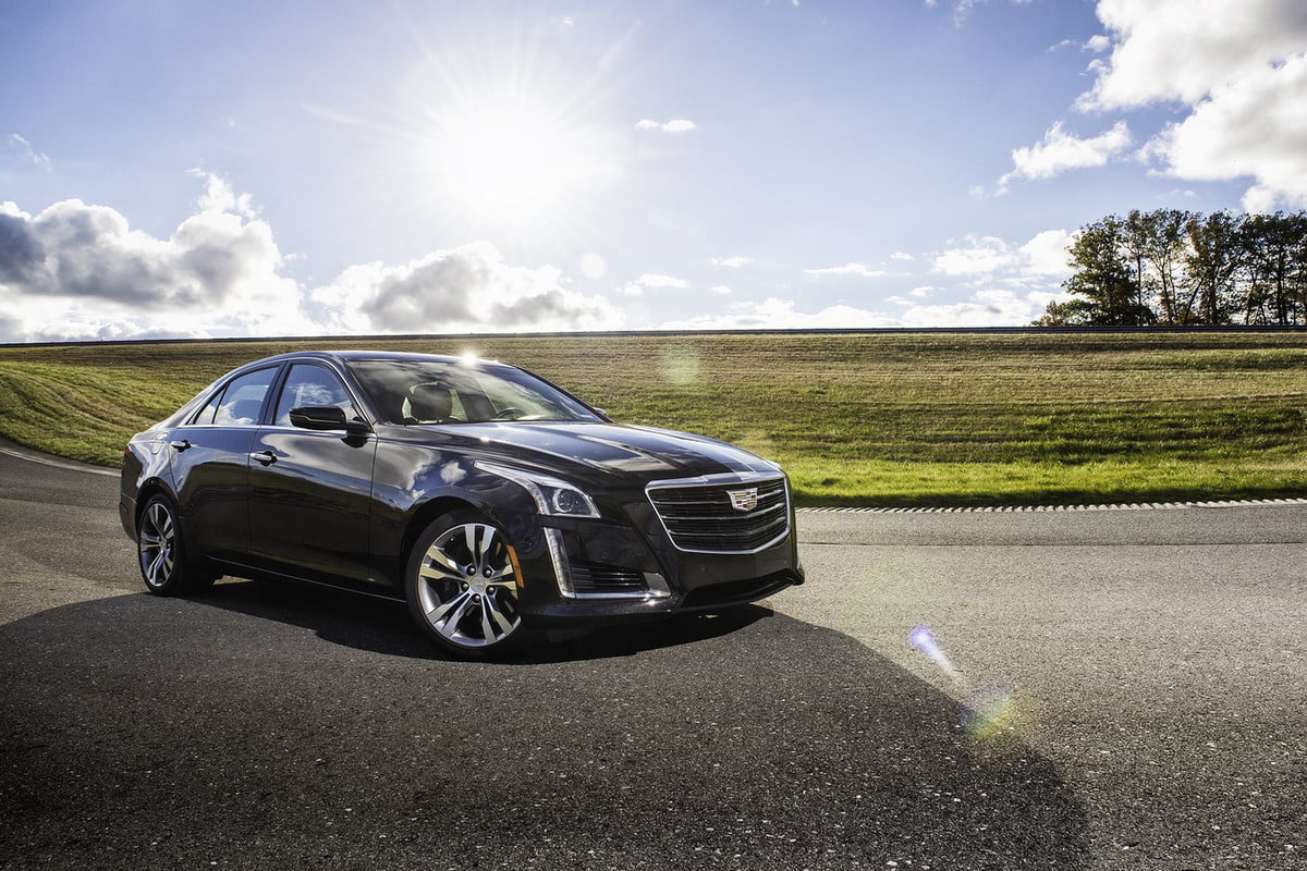 cadillac cue updates  cts