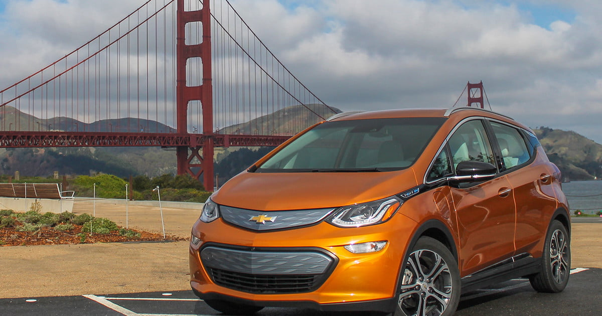 2017 Chevrolet Bolt EV First Drive