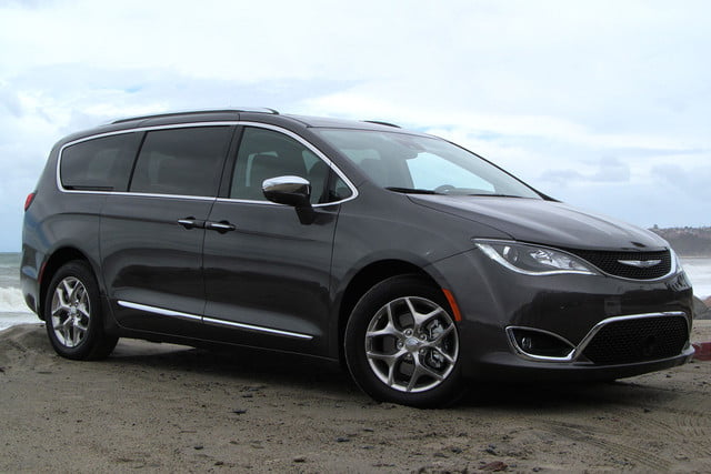 google fca  minivans only chrysler pacifica back angle