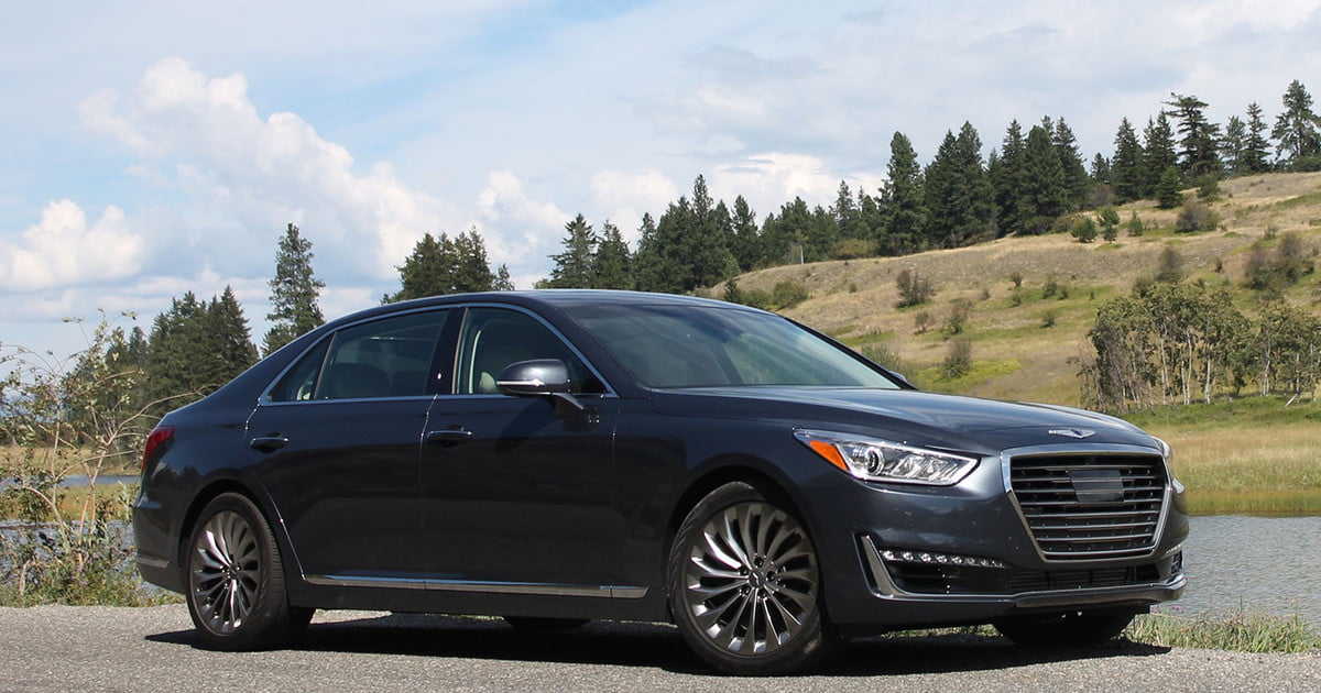 2017 genesis g90 first drive review pictures specs. Black Bedroom Furniture Sets. Home Design Ideas