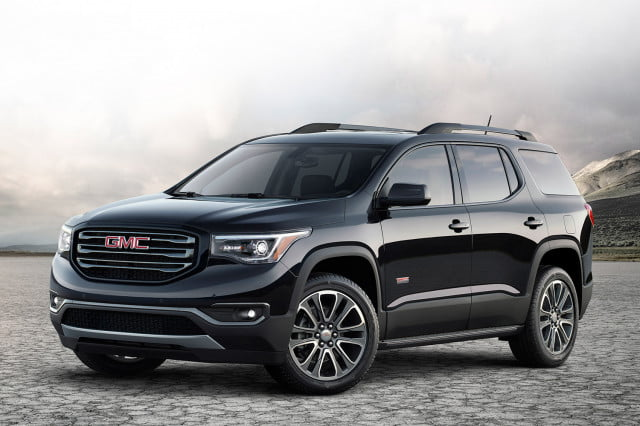 general motors sidecar  gmc acadia all terrain