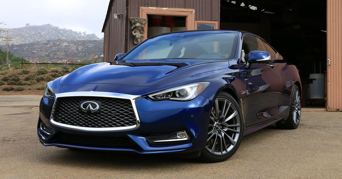2017 infiniti q60 s red sport 400 first drive digital trends. Black Bedroom Furniture Sets. Home Design Ideas