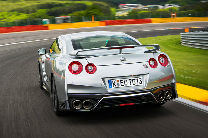 nissan gt r first drive