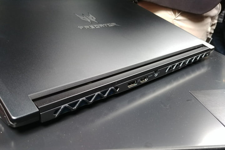 acer triton  hands on review