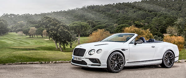 Bentley's 2017 ContinentaL Supersports is a striking balance of speed and splendor
