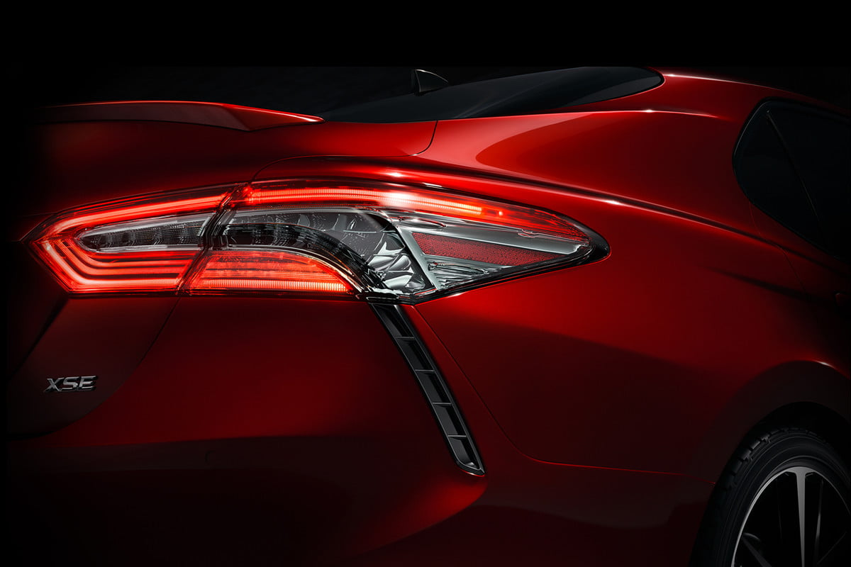 from bland to bold  toyota camrys design may be worth getting excited about camry teaser