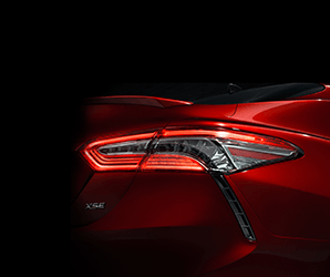 From bland to bold? Toyota is teasing a new look for the 2018 Camry