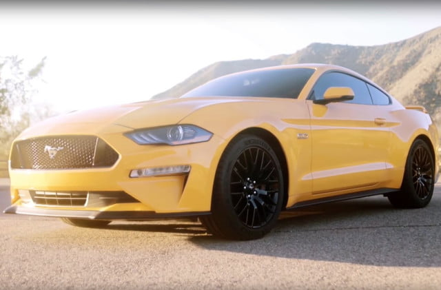 ford mustang news video leak specs performance