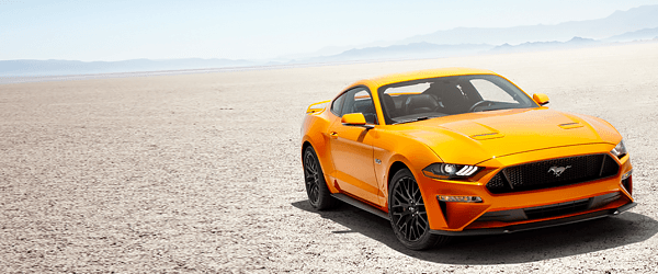 The 2018 Ford Mustang has LED lamps, an LCD dash, and a polarizing new look