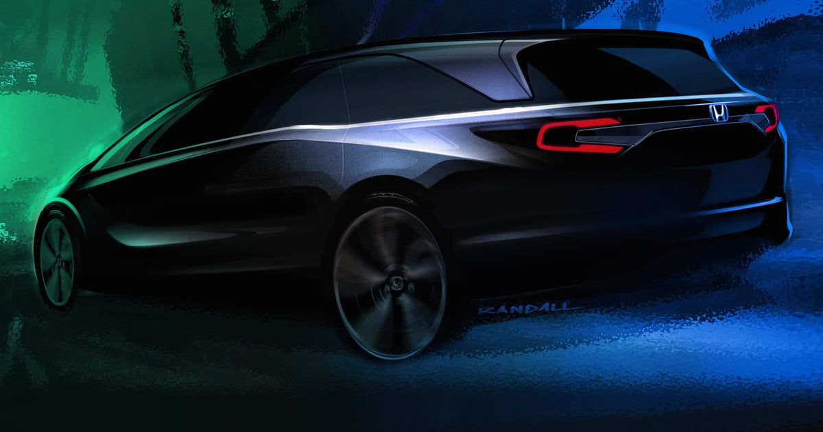 2018 Honda Odyssey To Debut At 2017 Detroit Auto Show