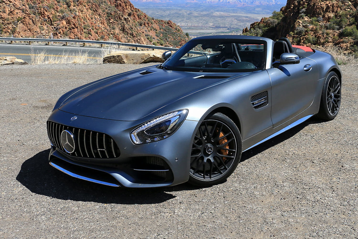 2018 Mercedes Amg Gt C Roadster First Drive