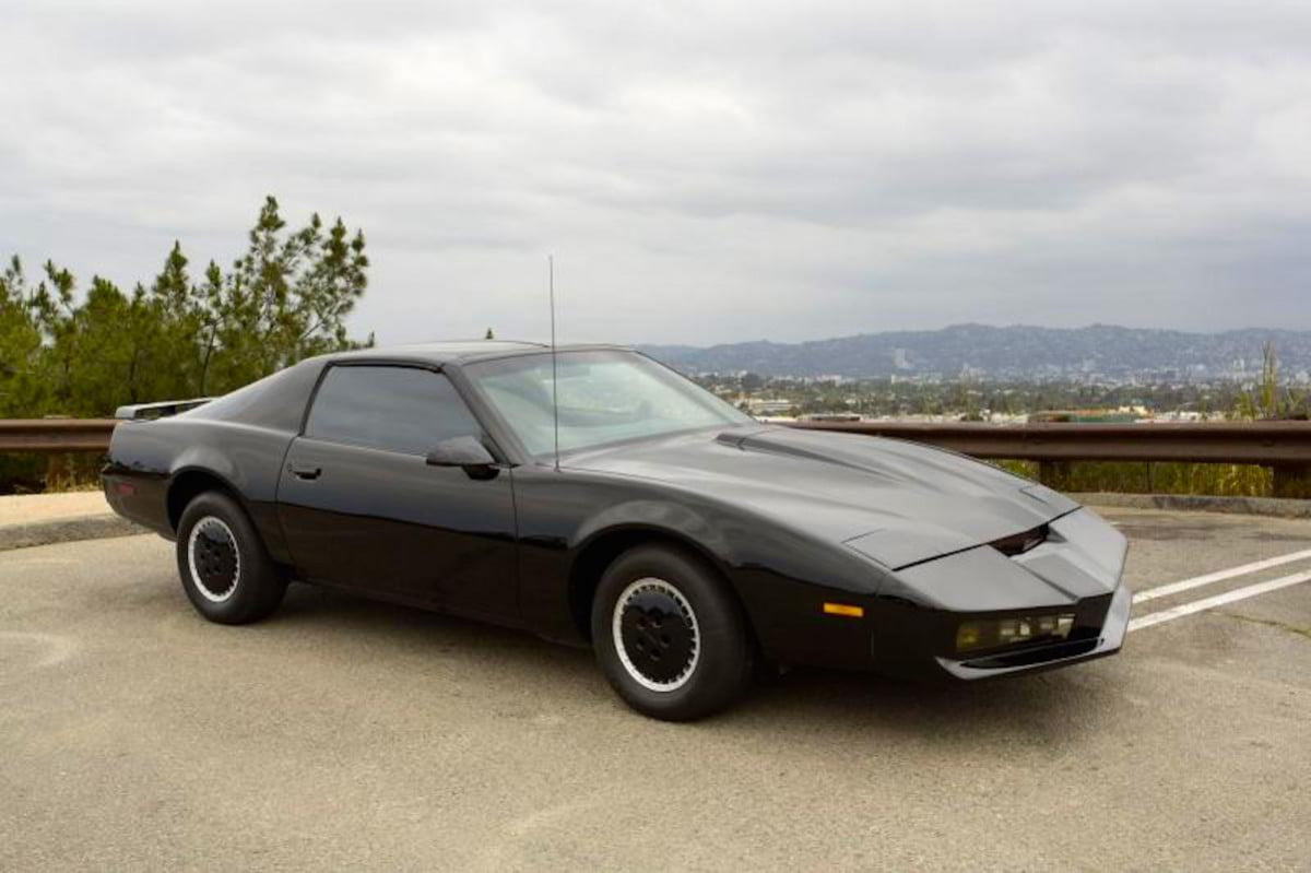 kitt from knight rider up for auction