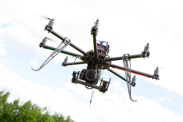 cnn adds drone division  multirotor photography helicopter