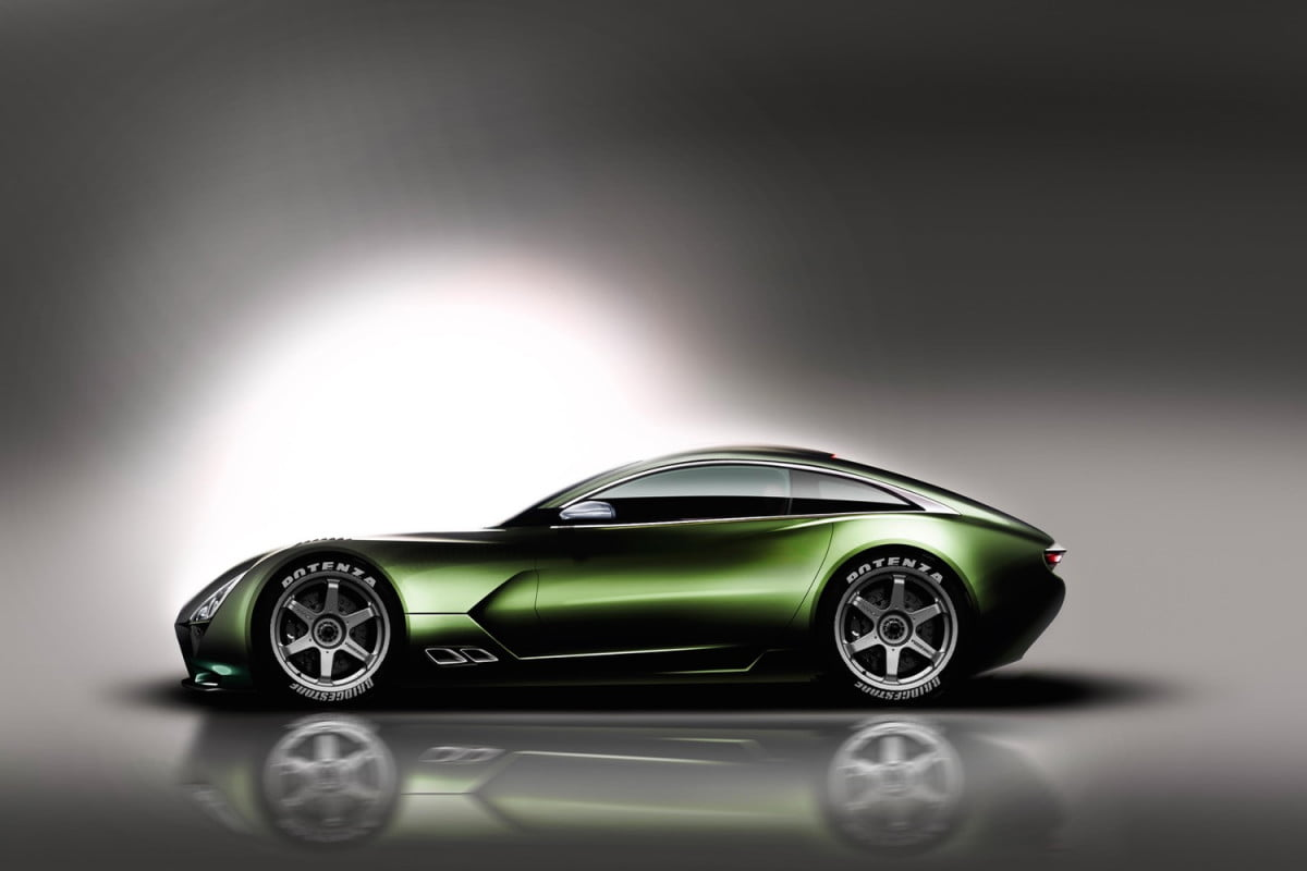 tvr to build sports car in wales rendering