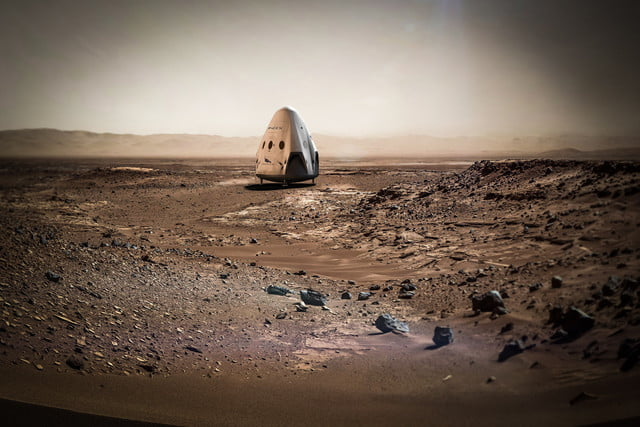 spacex appears to be on track for mars by  but has legal hurdles clear
