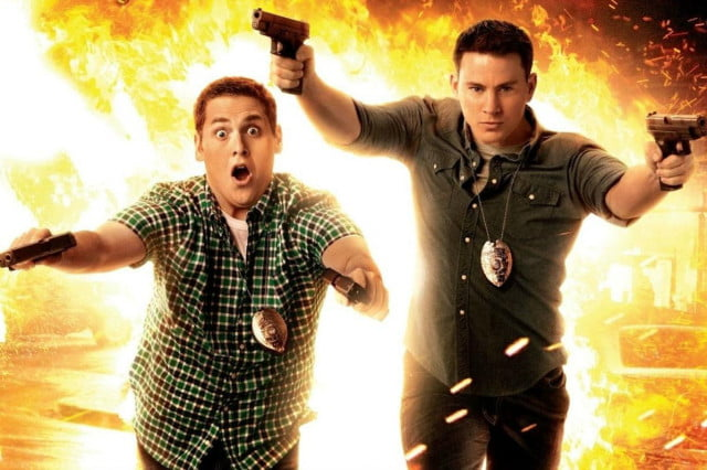 jump street spinoff female leads men in black crossover  flames