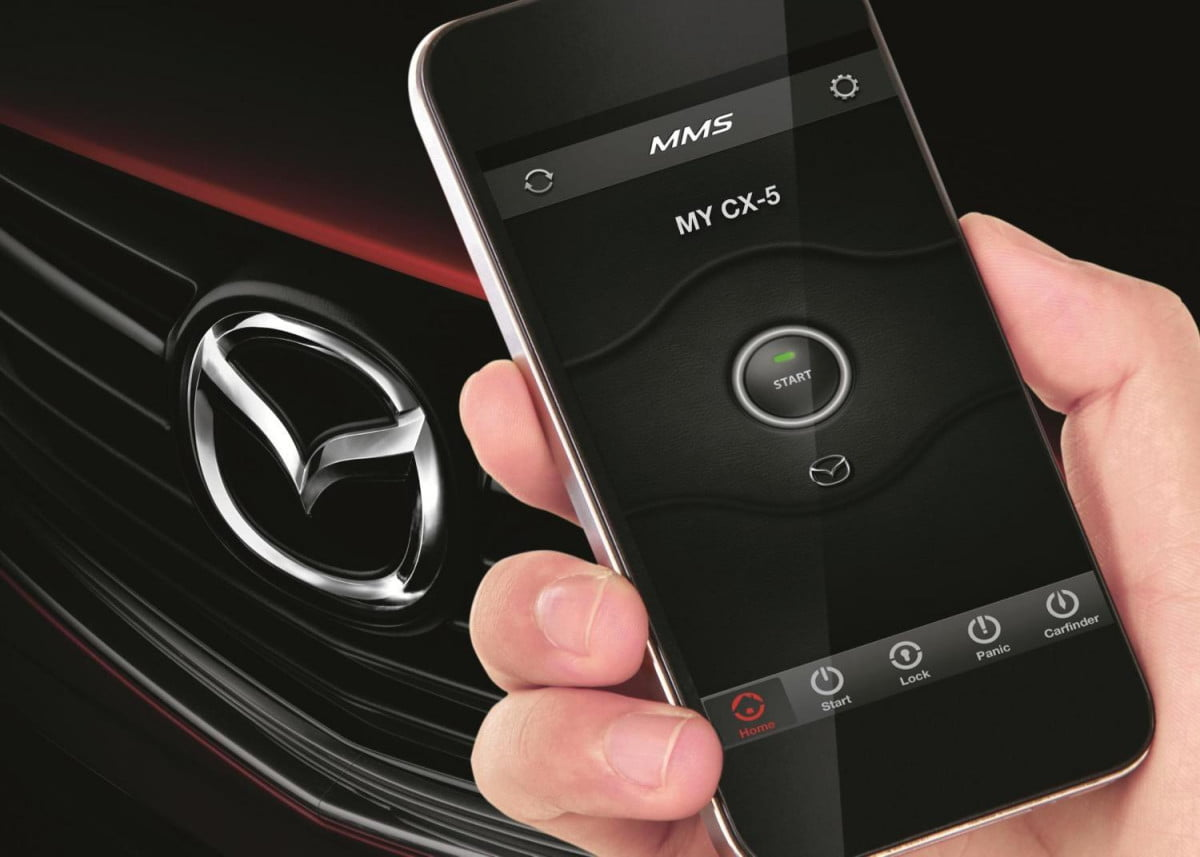 mazda mobile start news pictures specs
