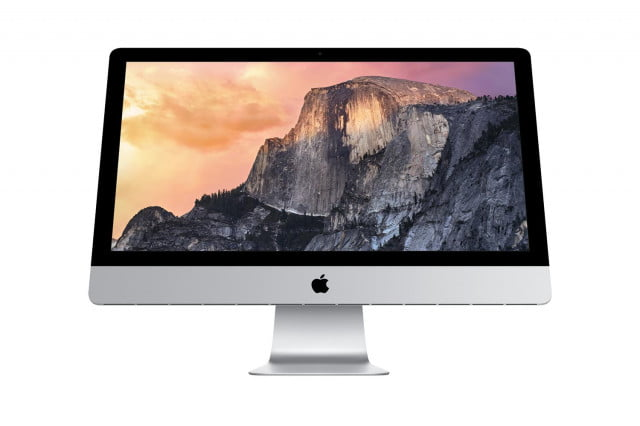 os x yosemite  launches just in time for new macbook release inch imac with retina k display homescreen