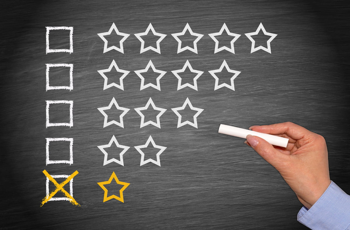 consumer review fairness act protects negative reviews  one star only low performance