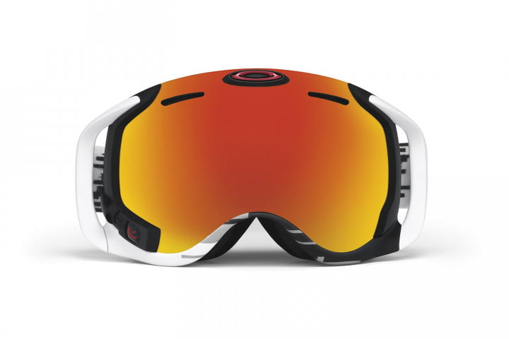 oakleys new hud goggle looks good for bombing tanks is mountains  airwave front fire irid