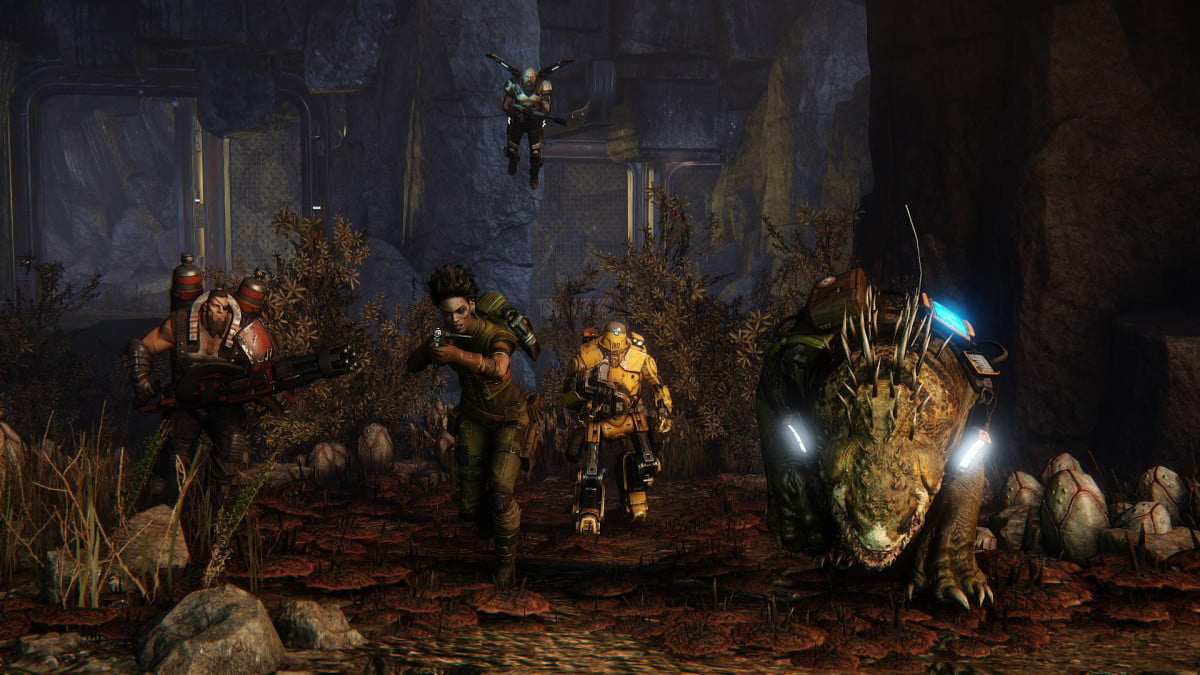 evolve release delayed hunt now begins february  k e newhunters bmp