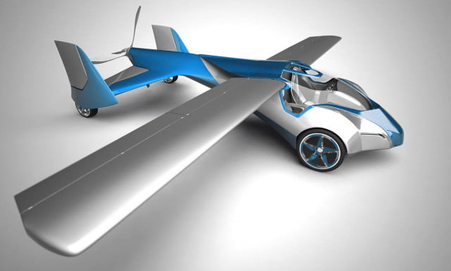 aeromobil  flying car prototype makes its first test flight aeromobile rendering