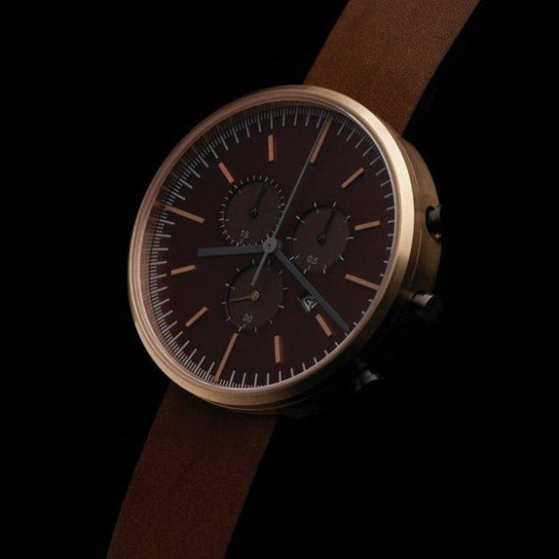 302 PVD Rose Gold Wristwatch by Uniform Wares