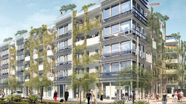 passive housing germany  slide s this new design is the largest house apartment complex in world copy
