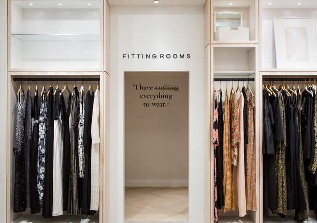 rent the runway flagship store  inline a editretouched opens its first