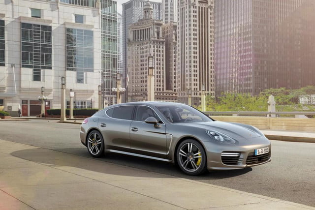porsche panamera turbo s is fast powerful and expensive  front three quarter