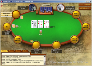 PokerStars screen shot