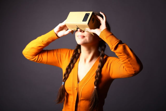 report youths want vr virtual reality cardboard orange