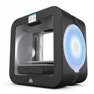 3D Systems cube gray
