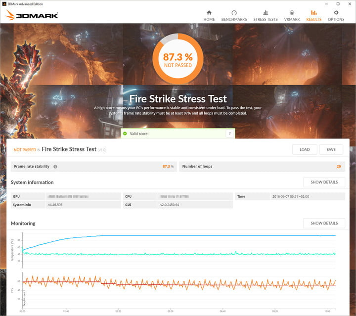 Stress Test What Is It: 3DMark Advanced And Professional Now Offer Stress Testing