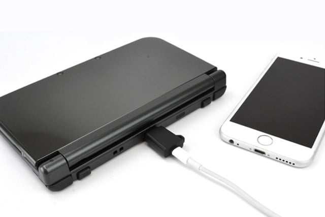 adapter lets iphone or android chargers power  ds dscharger