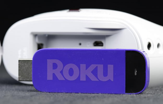 3m streaming projector roku stick hdmi battery operated