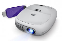 m streaming projector with roku review