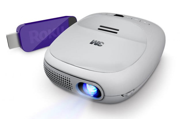 3M Streaming projector with roku