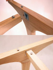 3style Table Metal Lock Configuration