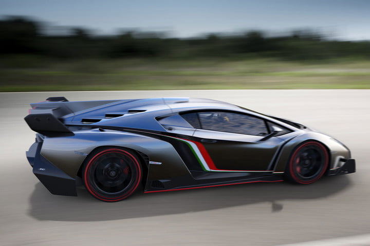 the top ten most expensive cars in world  million lamborghini veneno