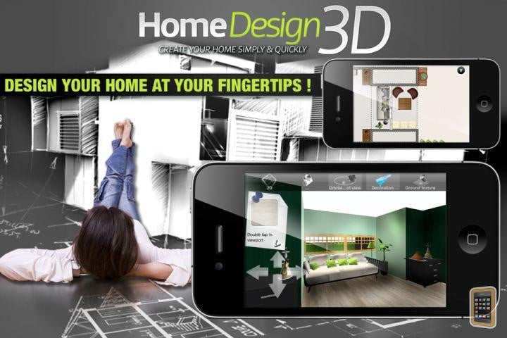 Home design 3d app lets you design virtual models of your for 3d house app