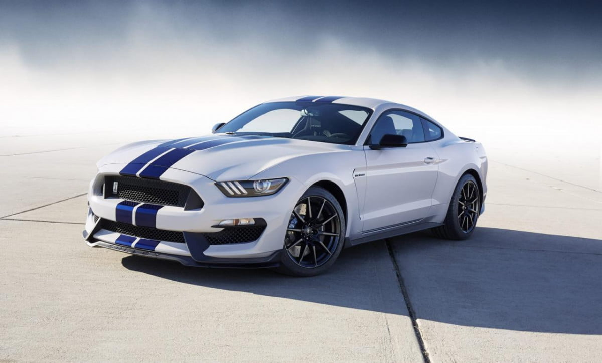 ford limiting the  shelby gt mustang to units