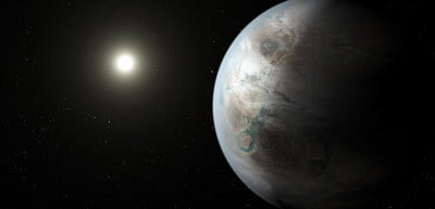 An artist's depiction of Kepler-452b, an Earth-like exoplanet that could harbor an environment similar to our own.